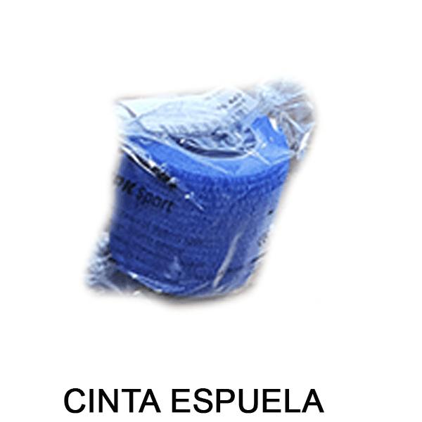 cinta espuela azul