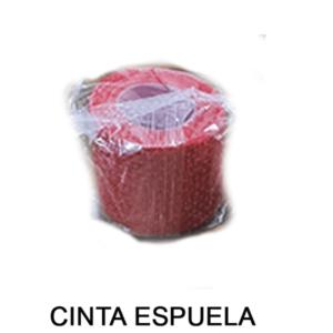 cinta espuela rojo