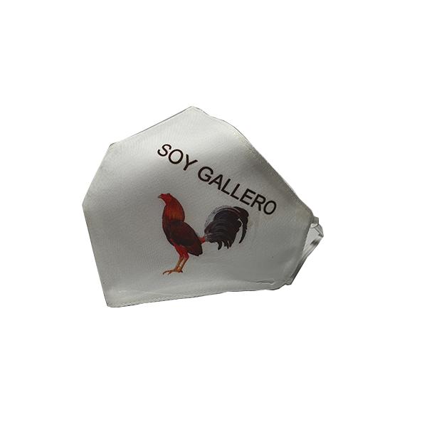 mascarillas gallos de pelea