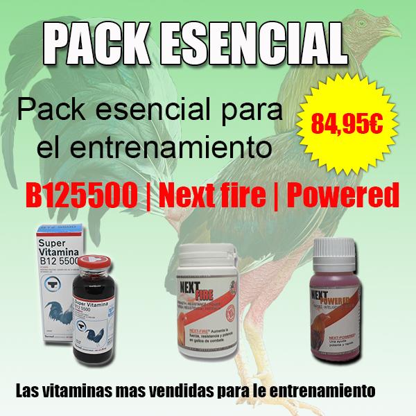 pack esencial gallos de pelea