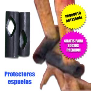 PROTECTORES ESPUELAS GALLOS DE PELEA